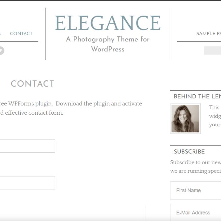 Elegance contact