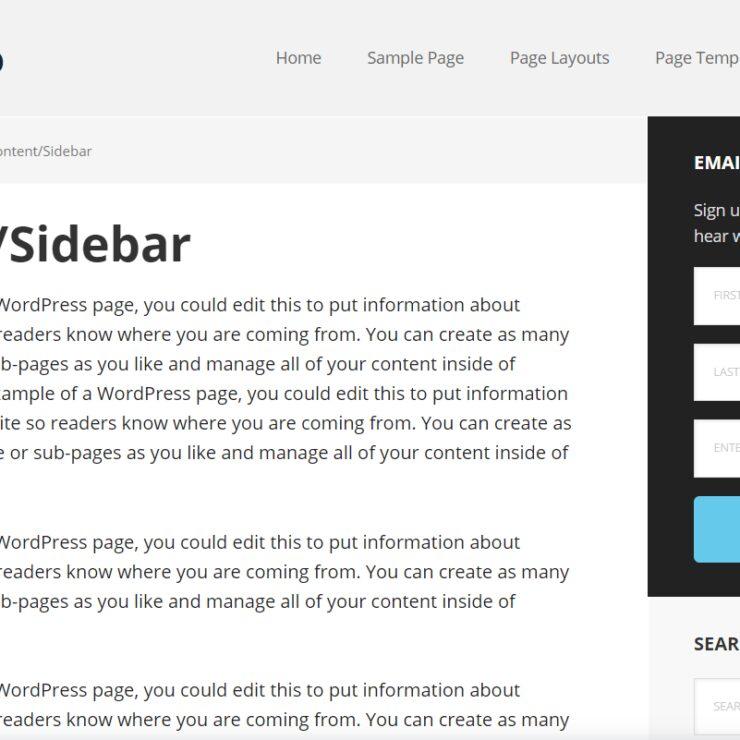 Executive Pro Sidebar