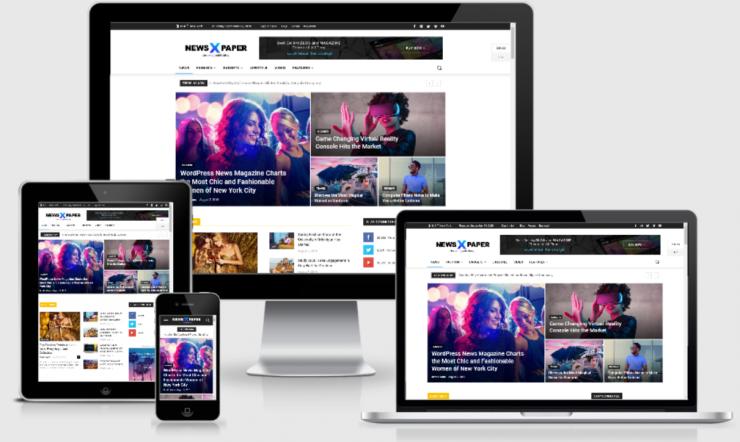 Newspaper WordPress Template